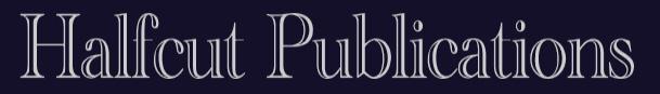 Halfcut Publications web banner